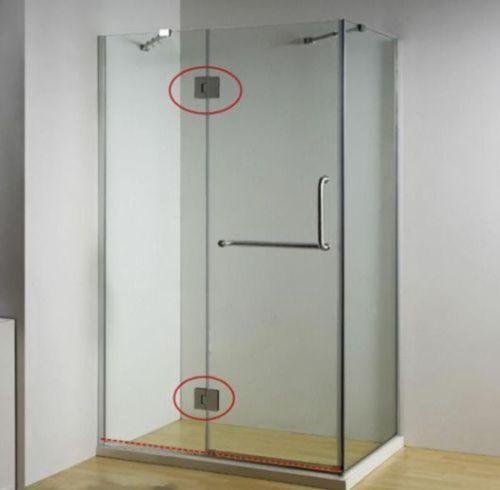 180° Stainless Steel Shower Screen Door Hinge Glass Shower screen Frameless