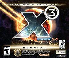 X3 The Reunion 2.0 PC Games Windows 10 8 7 Vista XP space simulation spacecraft