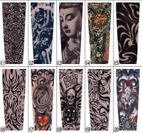Tattoo Stretch Cool Arm Sleeves Cover Team Sun Armband Skin Protection 10pcs