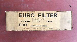 Euro-Filter-Fiat-124-S-Mot-1600-Filtro-Aria-Nuovo