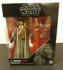 """Neuf Star Wars The Black Series 6/"""" Moloch TARGET EXCLUSIVE Collectible Figure Toy"""