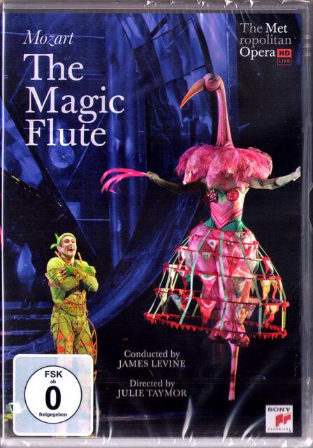 DVD MOZART: DIE ZAUBERFLÖTE Ying Huang Matthew Polenzani Miklosa JAMES LEVINE HD