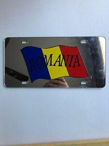 Custom-Licence-Plate-Romanian-Flag