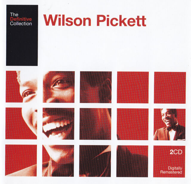 WILSON PICKETT - 2 CD - THE DEFINITIVE COLLECTION
