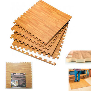 Interlocking-Wood-Effect-Mats-Eva-Soft-Foam-Exercise-Floor-Gym-Office-Mat-Puzzle