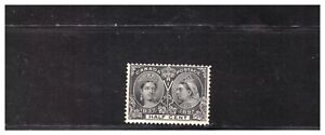 CANADA SC.50 1897 QUEEN VICTORIA JUBILEE ISSUE MH CATALOG 120.00 BBPG3