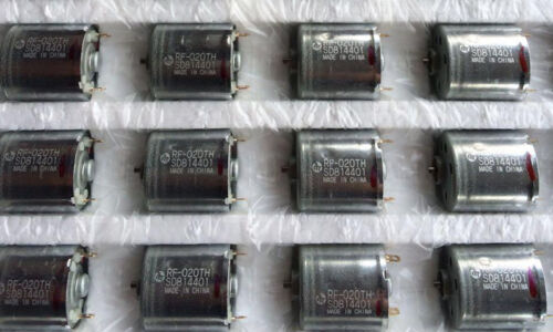 Mabuchi RF-020TH Mini 17mm DC Motor 3V 5V 12V DIY Gear motor Toy Massager Model