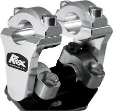 Rox Universal Aluminum 2 Inch Pivoting Handlebar Riser For 7/8 Bars Clamps