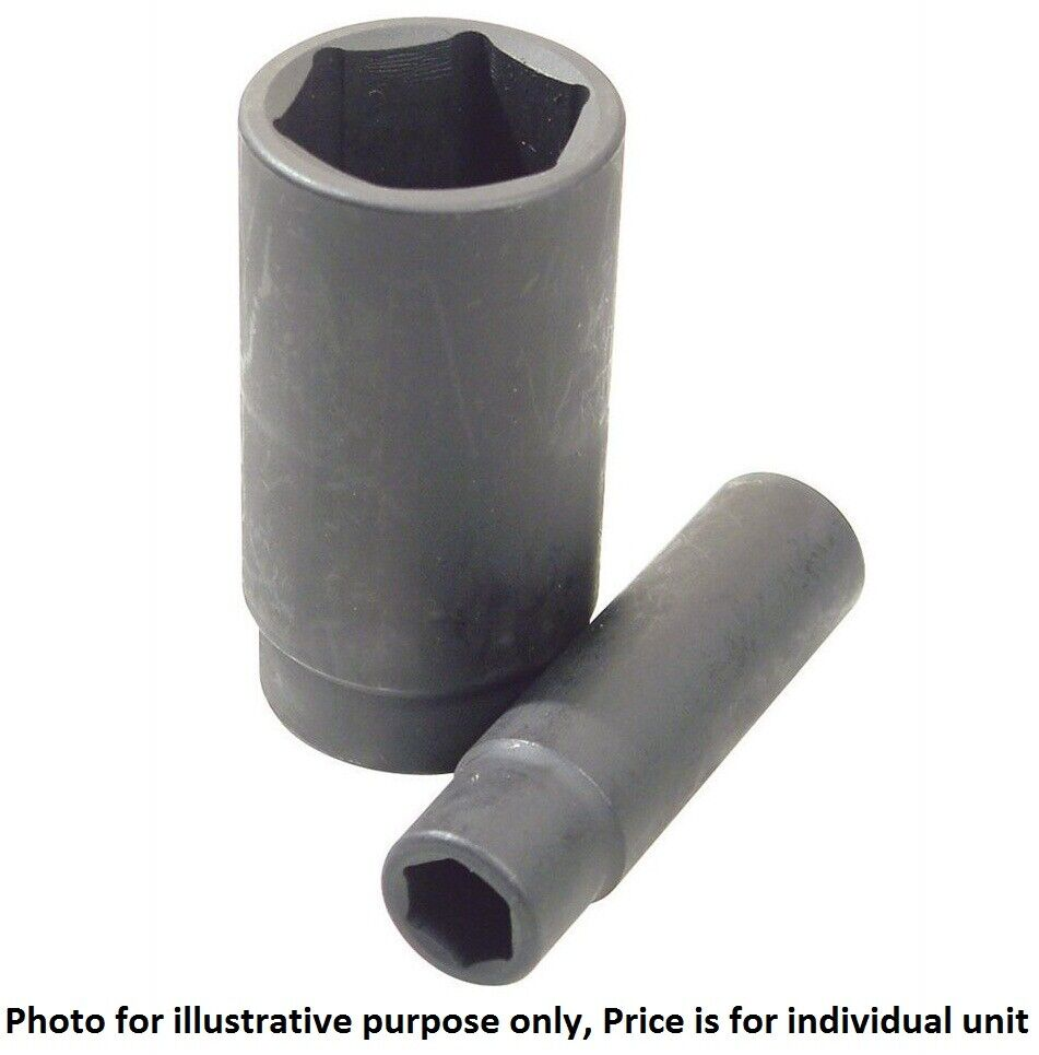 "Sidchrome 6-POINT IMPERIAL DEEP IMPACT SOCKET 1 2"" Drive - 1 7 16"" Or 1 1 2"""