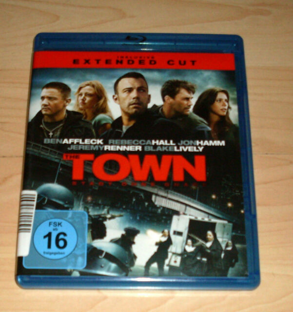 Blu Ray Film - The Town - Extended Cut - Ben Affleck ( Blueray Blue )