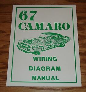 1967 chevrolet camaro wiring diagram manual 67 chevy ebay image is loading 1967 chevrolet camaro wiring diagram manual 67 chevy asfbconference2016 Image collections
