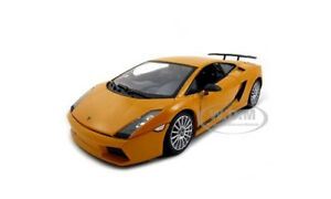 Lamborghini Gallardo Superleggera Orange 1 18 Model Car By Motormax