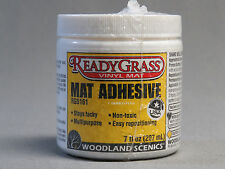 WOODLAND SCENICS MAT ADHESIVE FOR READY GRASS paper train N HO O land 5161 NEW