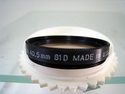 Tiffen 40581D 40.5mm 81D Filter