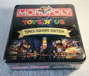 Monopoly-Toys-R-Us-Time-Square-Edition-Tin-Box-SEALED