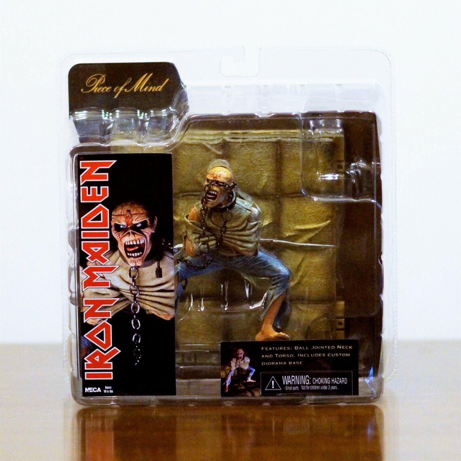 Iron Maiden EDDIE - Piece of Mind - 7   cifra  w  Diorama by NECA - 2010  più economico