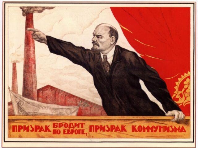 Vladimir Lenin Russian Leader Speaks to The Masses Poster for sale ...