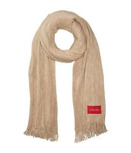808e272a0 Details about Calvin Klein women's Basic Soft Wrap & Scarf in  one,Color:Almond