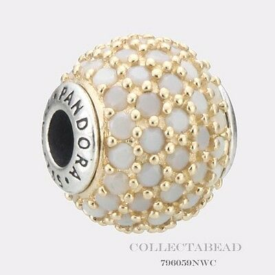 Authentic Pandora Essence Collection Silver & 14k Hope Bead 796059NWC *SPECIAL!*