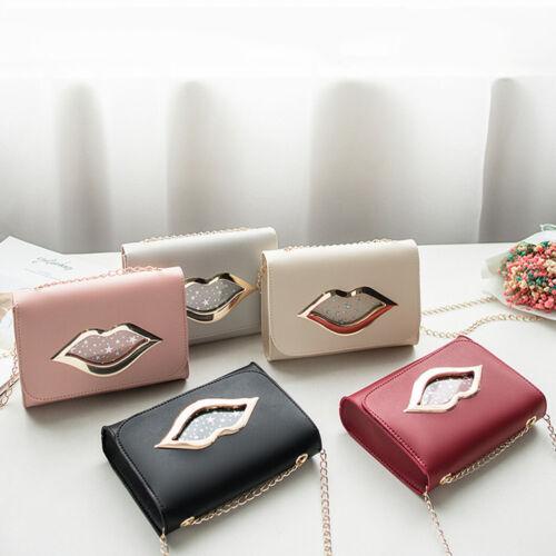 Women Leather Shoulder Bag Tote Phone Pouch Purse Handbag Messenger Satchel