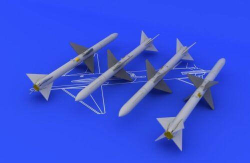 Photo-Etch /& Resin AIM 7M Sparrow eduard 648069 1//48 Aircraft