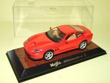 FERRARI 550 MARANELLO 1996 Rouge Maisto