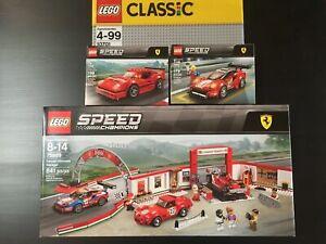 Details about LEGO Speed Champions Ferrari Ultimate Garage 75889 Bundle Set