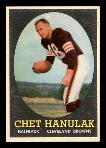 CHET-HANULAK-1958-TOPPS-1958-NO-45-EXMINT-22693