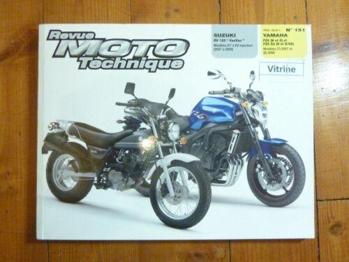 RV125 VANVAN Fazer Revue Technique moto Suzuki Yamaha Etat Bon Etat Occasion