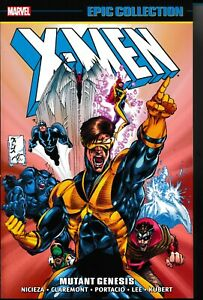 X-MEN-EPIC-COLLECTION-MUTANT-GENESIS-By-Jim-Lee-Brand-New