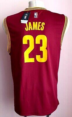 Lebron James Cleveland 23 Adidas Maroon Jersey Medium   eBay