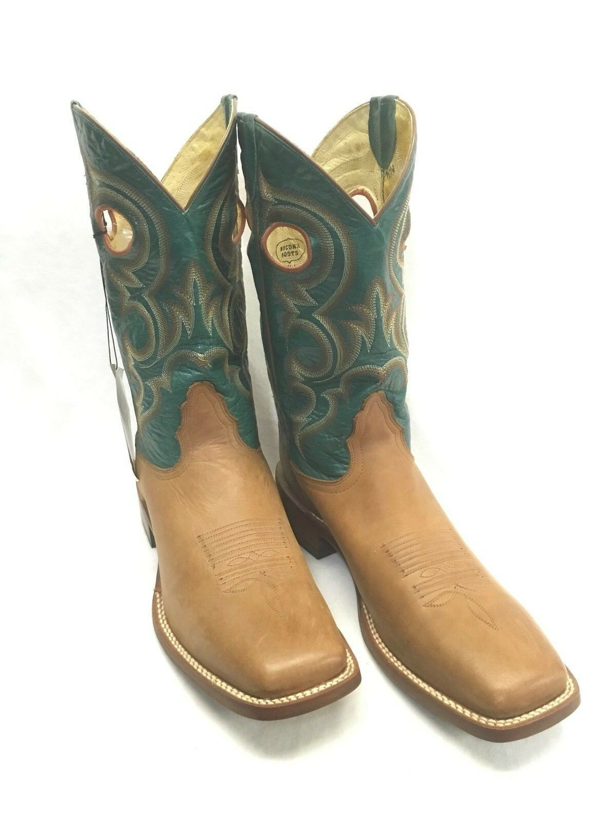 Men's Nocona Boots-Copper Ranch Hand Vamp Style NB4011