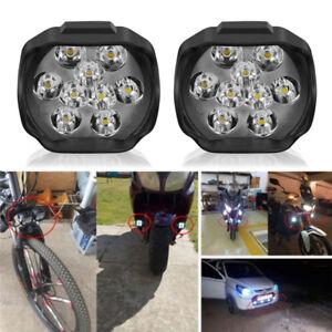 9LED-moto-Faro-luci-Spot-testa-lampada-LED-DC12V-anteriore-guida