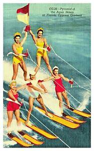 Water ski show-Cypress Gardens | Water skis, Water skiing