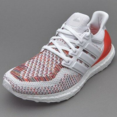 Adidas Ultra Boost White Red MultiColor