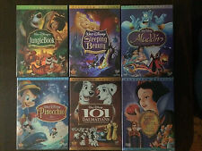 Pick 4 out of 6 Disney DVDs Aladdin, 101 Dalmatians, Snow White etc.