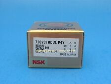 Matched Pair NSK 7205CTYNSULP4 Abec-7 Super Precision Contact Spindle Bearing