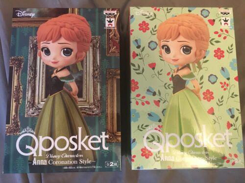 Disney Princess Coronation Style Anna Q Posket Licensed Disney Japan Figures