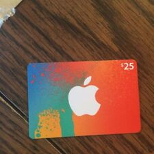 $25 Apple Gift Card