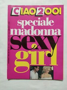 RARE-CIAO-2001-N-32-1987-SPECIALE-MADOONA-SEXY-GIRL