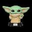 Funko-POP-The-Mandalorian-Baby-Yoda-The-Child-Vinyl-Figure thumbnail 2