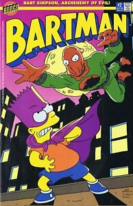 BARTMAN #2 THE PENALIZER SIMPSONS COMIC 1990's Rare Bart Simpson