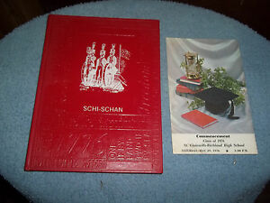 1976-ST-CLAIRSVILLE-HIGH-SCHOOL-YEARBOOK-ST-CLAIRSVILLE-OH-COMMENCEMENT-BOOK-TOO