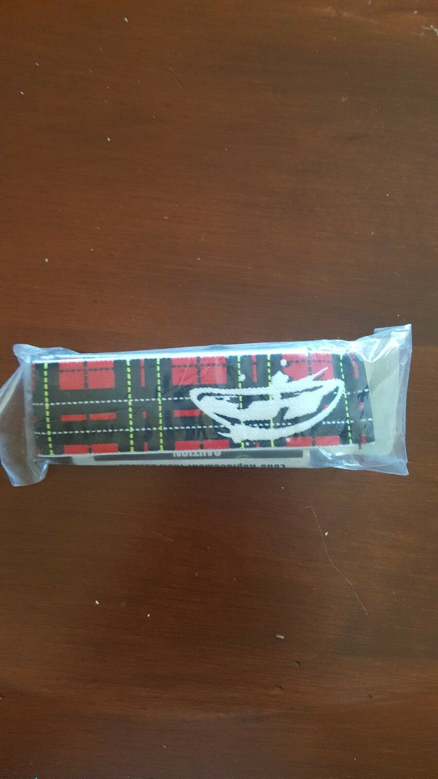 JT Proflex paintball spectra red plaid goggle mask strap