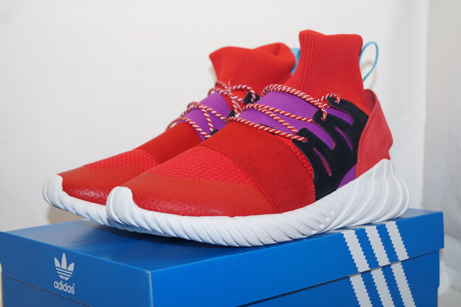 Adidas originals TUBULAR DOOM WINTER EU 45.3 UK 10.5 rot weiss BY9397 Herren