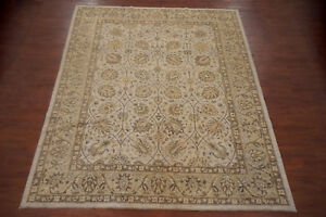 Pak Chobi 9X11 Peshawar Hand-Knotted Oriental Area Wool Rug Carpet New