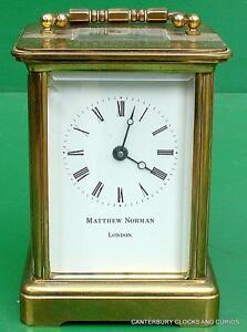 Matthew-Norman-Vintage-Suisse-8-Jour-Timepiece-Caleche-Horloge