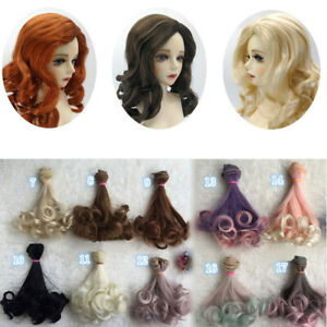 Women-DIY-Long-Curly-Doll-Hair-Cosplay-Wig-Anime-Party-Extension-Hairpiece-Eager