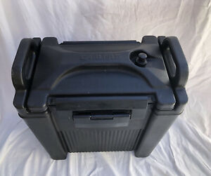 Carlisle Cateraide XT2500 2.5 Gallon Beverage Server Black Plastic Made in USA