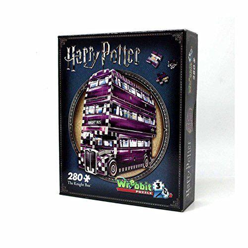 Wrebbit 3D W3D-0507 Harry Potter The Knight Bus 3D Puzzle - 280 pieces